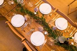 tipi table setting
