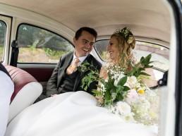 volkswagon beetle wedding car