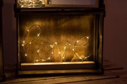love fairy light sign