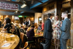 wedding reception at the Brewhouse and Kitchen Nottingham