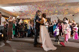 first dance confetti cannons