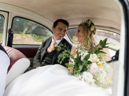 volkswagon beetle wedding car