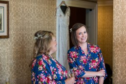 bridal prep matching robes